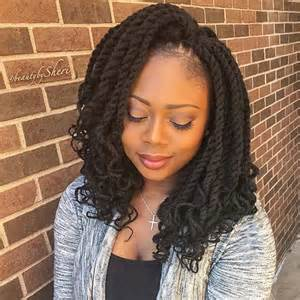 medium size packaged pre twisted hair for crochet braids 31 stunning crochet twist hairstyles protective styles