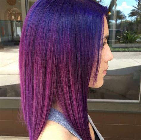 pravana purple hair dye pictures blue shadow root on purple vivid hair pravana violet and