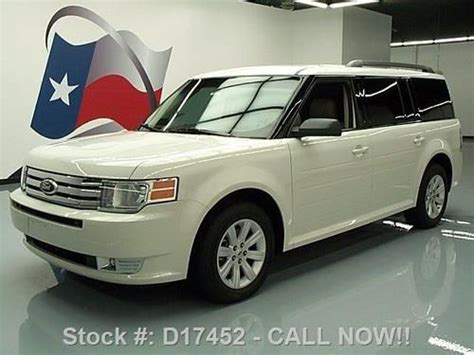 how it works cars 2012 ford flex parking system sell used 2012 ford flex se 7 pass 3rd row sync park assist 9k mi texas direct auto in stafford
