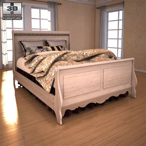 silverglade bedroom set 3d model ashley silverglade sleigh bedroom set vr ar