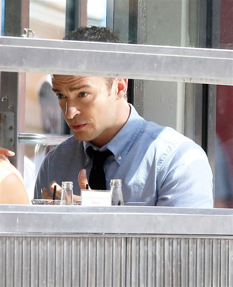 Would You Eat Justin Timberlakes Bbq by Justin Timberlake On Set Of Quot Friends With Benefits