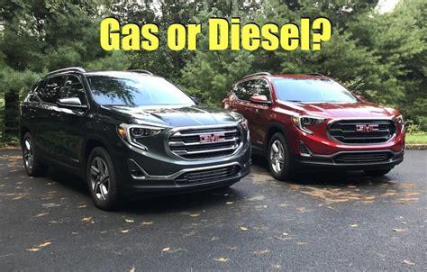 gmc terrain gas  diesel  drive review