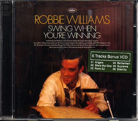 swing robbie williams robbie williams swing when you re winning cd album at