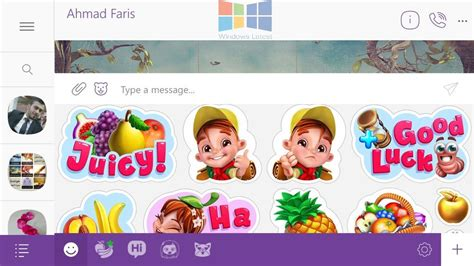 viber for mobile exclusive screenshots of new viber beta for windows 10 mobile