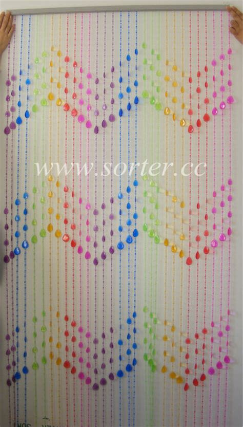 plastic room divider curtain hanging teardrop plastic bead curtains for door curtain
