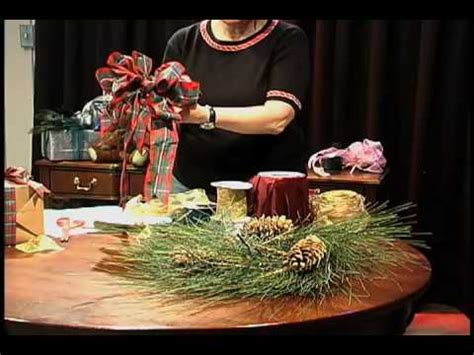 youtube how to make a silver xmas bow how to make a wreath bow
