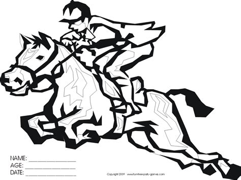 coloring pages of derby horses kentucky derby coloring pages az coloring pages