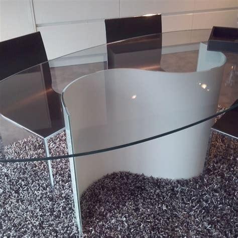 tavolo cristallo ovale tavolo ovale in vetro con sedie tavoli a prezzi scontati