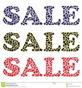 Clothing Sale Sale Sign For Clothing Stores Royalty Free Stock Images