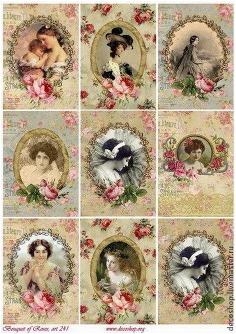 imagenes vintage femeninas hoy os traigo im 225 genes vintage para imprimir con figuras