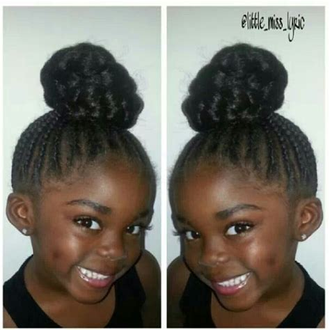 quick and easy braid bun styles for black women 258 best images about easy hairstyles for kids on