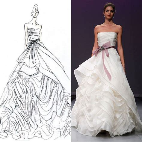 how to design a dress esquisse et croquis robe de mari 233 e rivini 2012