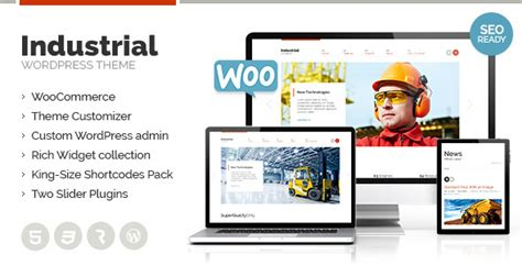 themeforest industrial industrial multi purpose responsive wp theme by