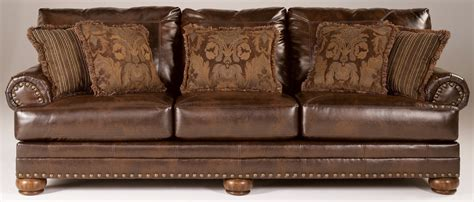 ashley sofa and loveseat chaling durablend antique sofa from ashley 9920038