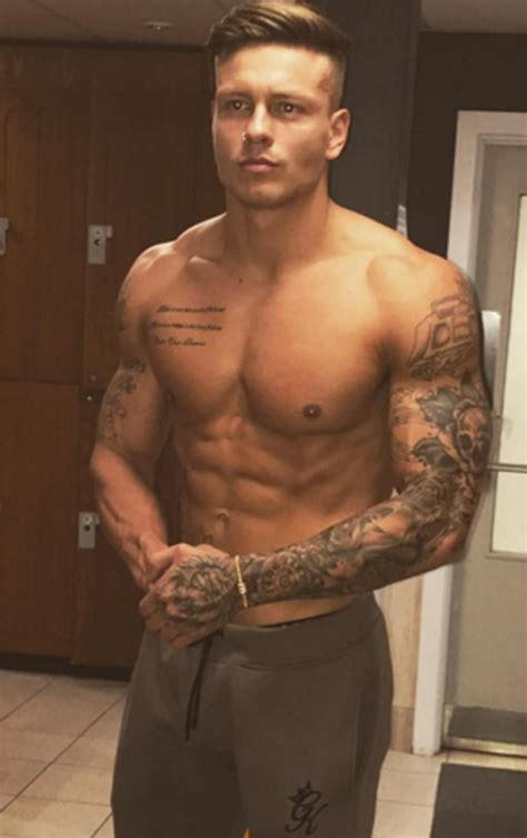 alex bowen divides fans with epic tattoo he s ruined