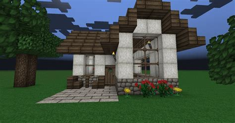 smallest minecraft house small cute house minecraft project