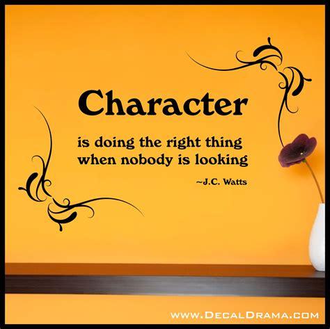 Character Definition decal drama 183 character definition from j c watts vinyl