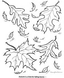 free autumn coloring pages fall coloring picture