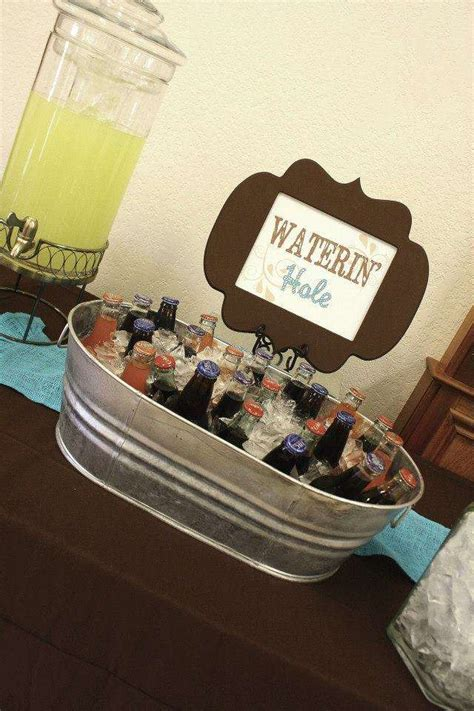 Western/Cowboy Baby Shower Party Ideas   Photo 1 of 69