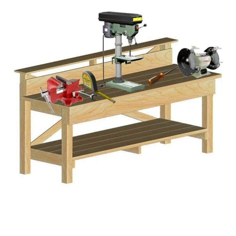 heavy duty work bench solidplans com start your project with a solid set of