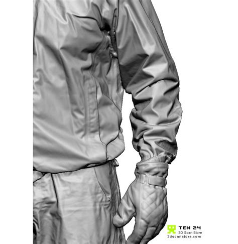 zbrush gloves tutorial shaded male 02 gloves and coat