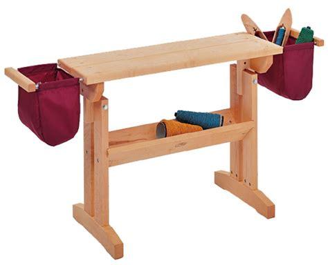 weaving bench schacht loom bench maple weaving equipment halcyon yarn