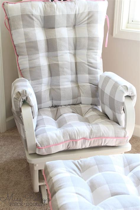 glider rocker with glider ottoman nursery glider cushions thenurseries
