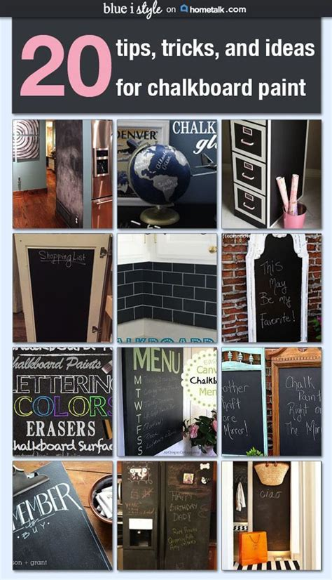 diy chalkboard tips diy with style tips tricks for using chalkboard paint