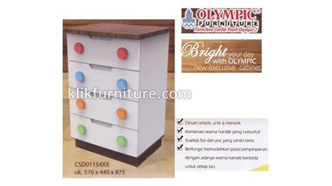 Lemari Olympic Susun csd 0115492 cabinet laci 4 susun olympic sale