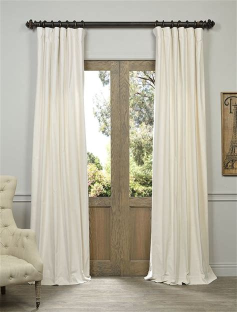 ivory cotton curtains velvet curtains vintage cotton and ivory on pinterest