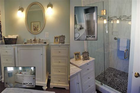 before and after bathroom remodels pictures of small bathroom remodel master before after