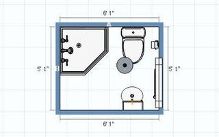 4 x 6 bathroom layout ideas for layout of new tiny bathroom