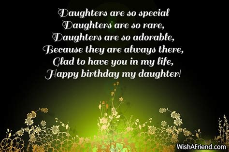 Birthday Quotes For Daughters Daughter Birthday Sayings Page 1