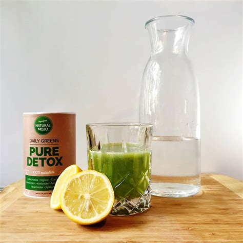 Purity Detox Drink by Kit Detox Naturalmojo It Superfoods