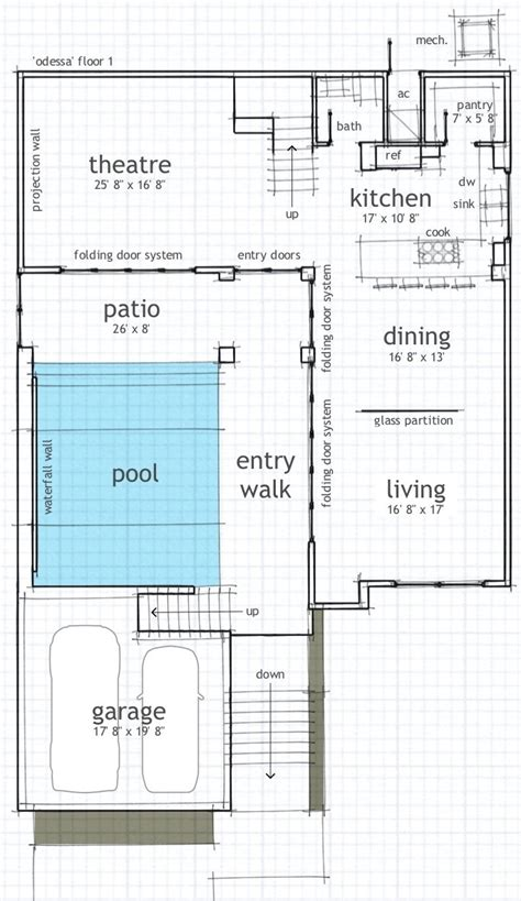 house layout with pool single floor house plans with indoor pool house plans