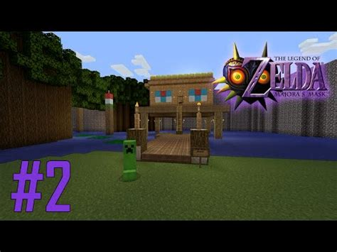 minecraft legend of zelda map youtube majoras mask legend of zelda minecraft adventure map ep