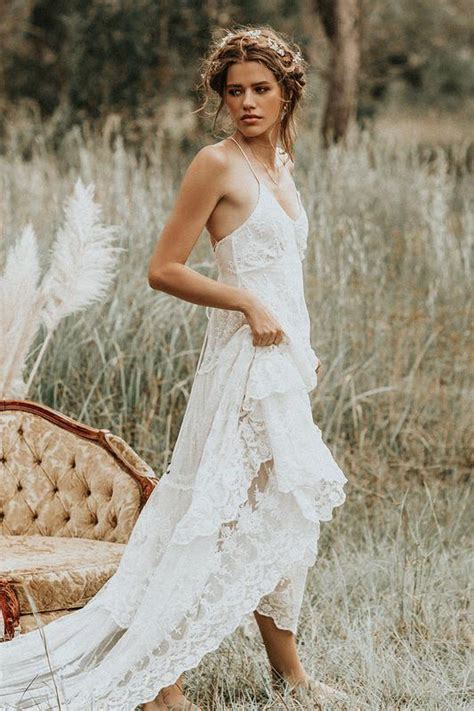 bridal gowns gypsy boho wedding dresses spell