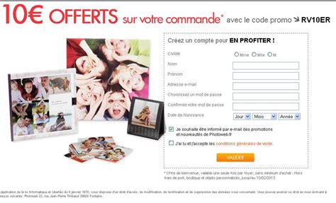 Calendrier Photoweb Photoweb 10 Euros De R 233 Duction Sans Minimum Pour Faire