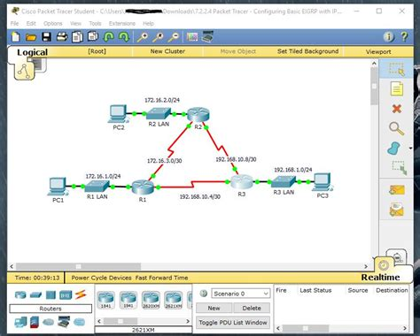 cisco packet tracer student with tutorial download cisco student hacks 7 2 2 4 packet tracer configuring
