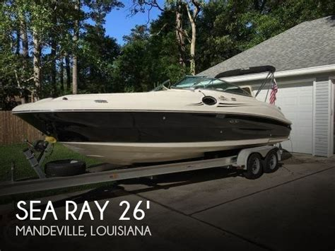 sea ray 24 jet boat for sale for sale used 2007 sea ray 24 sundeck 240 sd in