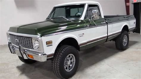72 chevy cheyenne 4 speed a c 4x4 for sale in