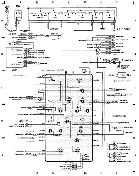 jeep cherokee wiring diagram collection wiring