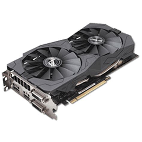 Vga Radeon Asus 470 Strix 4gb 0c Gaming asus radeon rx 470 strix oc 4 gb review techpowerup