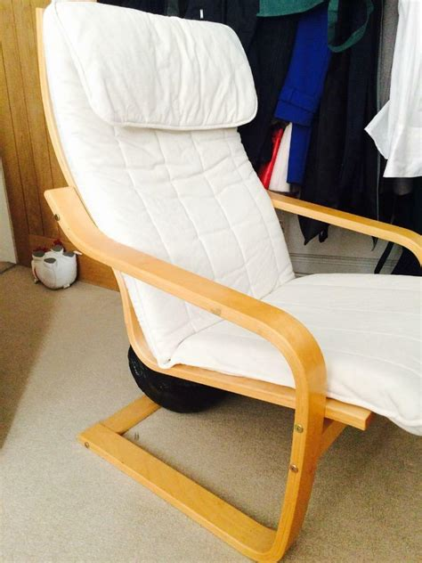 poang rocking chair cover ikea poang chair with 2 covers in farnham surrey gumtree