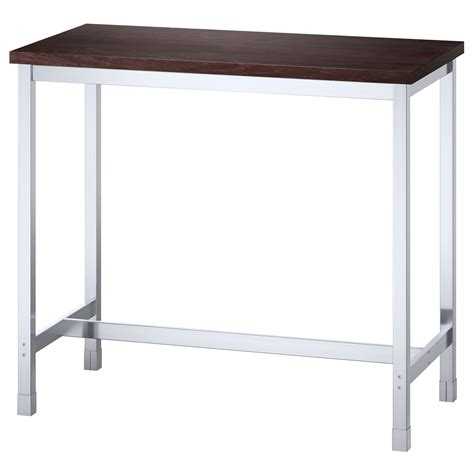 ikea bar height table and stools another option for standing desk nonadjustable height
