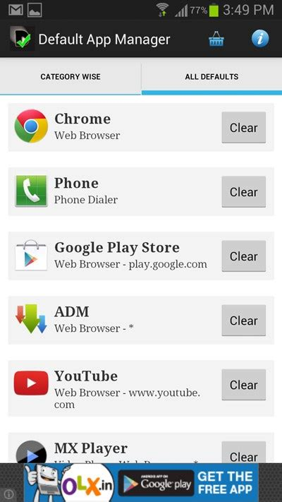 android default apps how to change the default apps for various tasks on android