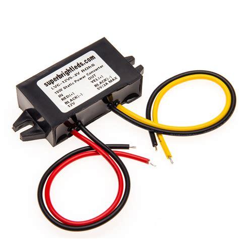 12 volt transformer for led lights 12v dc to 5v dc step down converter voltage reducer led