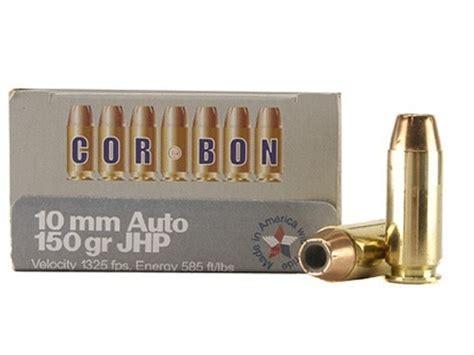 cor bon self defense ammo 10mm auto 150 grain jacketed
