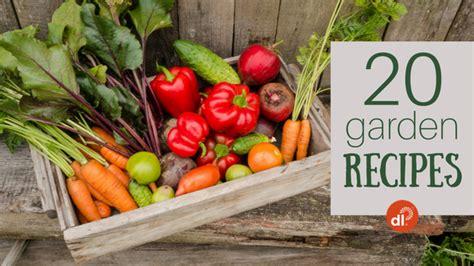 photo gallery 20 healthy home garden recipes delicious living