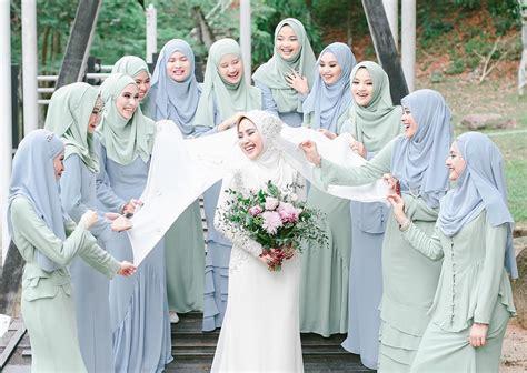 pattern baju bridesmaid mimpi ke langit dulang girl bridesmaid